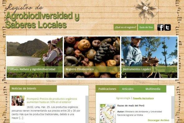 registro agrobiodiversidad