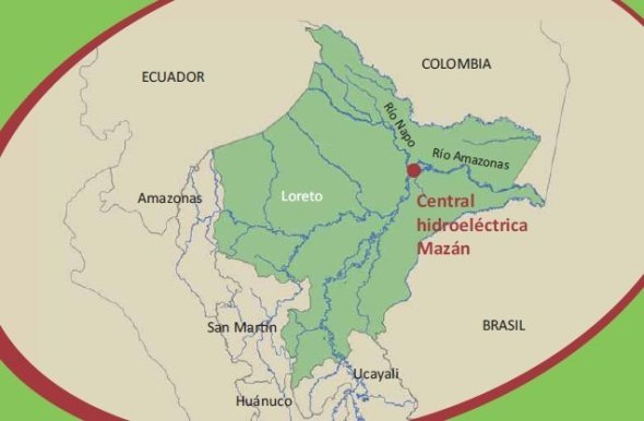 Central Hidroeléctrica de Mazán_SPDA