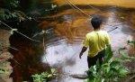 Derrame río Corrientes. Foto: Feconaco