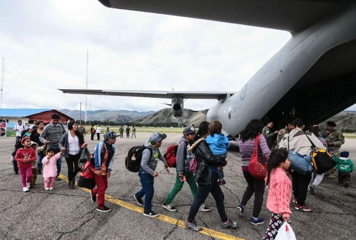 puente aereo-andina