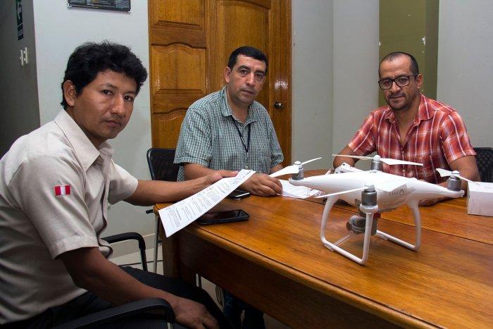Jefatura de la Reserva Nacional Tambopata recibió donación de drone