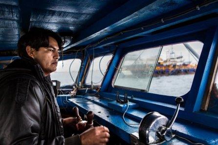 Dentro de una embarcación periquera en Paita, el primer puerto del país en lo que se refiere a la pesca de esta especie.