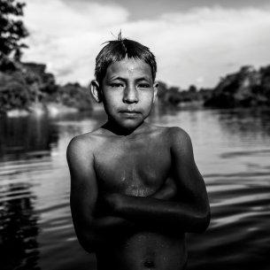 Su relación con el río y sus recursos toman valor a medida que crecen.