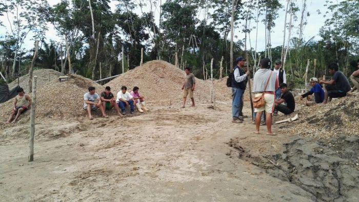 Madre de Dios: Poder Judicial liberó seis presuntos mineros ilegales_3