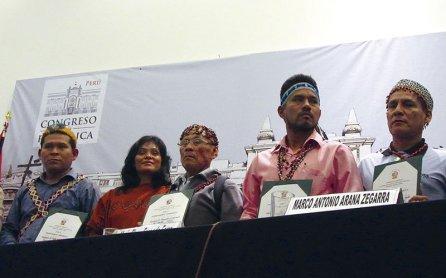 Líderes indígenas de nuestra Amazonía recibieron merecido reconocimiento.