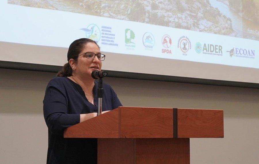 Lucía Ruiz, viceministra de Desarrollo Estratégico de los Recursos Naturales. (Foto: Katherine Bless / SPDA)