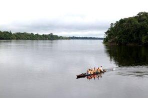 En el corazón de Pacaya Samiria se encuentra la cocha El Dorado, un impresionante espejo de agua amazónico. Foto: Jaime Tranca / SPDA