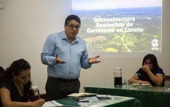 Jean Pierre Araujo, abogado del Programa de Bosques y Servicios Ecosistémicos de la SPDA.