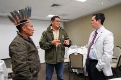 Enrique Nonato, Rafael Pino y Samín Vargas.