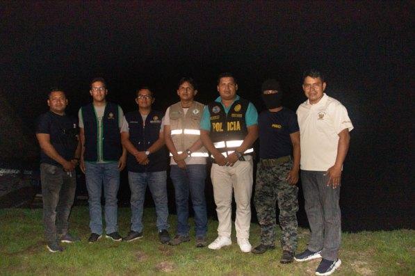 El gerente de la ARA Loreto participó del último operativo realizado. Foto: ARA Loreto