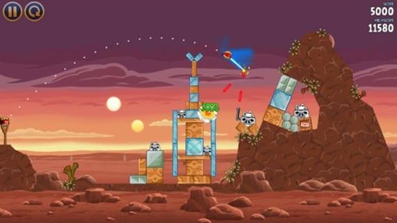Angry Birds Star Wars ya disponible en la App Store