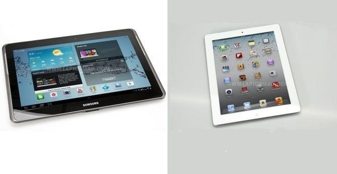 ipad contra galaxytab Apple tendrá que pagar a Samsung los costes judiciales en Reino Unido