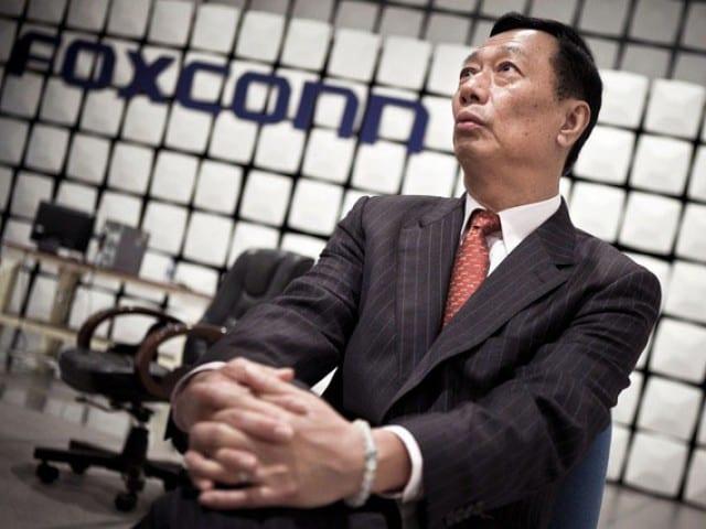 terry gou Foxconn reconoce las dificultades para cumplir con la demanda del nuevo iPhone