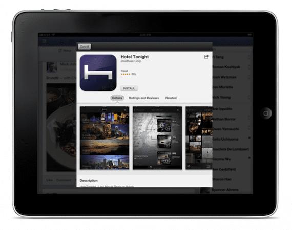 100639 640 La aplicación de Facebook puede insertar anuncios para instalar Apps sin lanzar la App Store