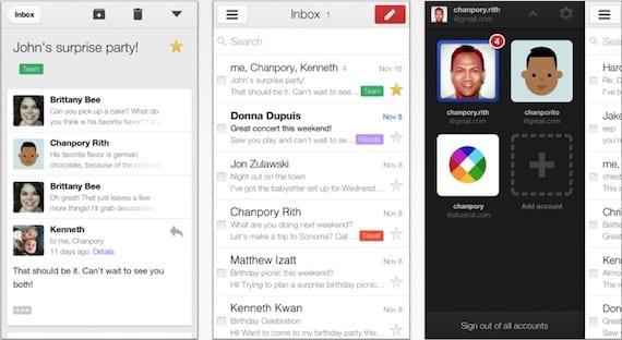 gmail 2 Gmail para iPhone y iPad se actualiza de nuevo