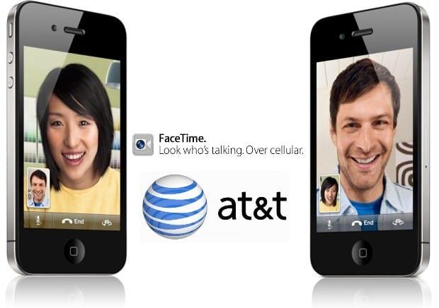 att facetime AT&T por fin habilita FaceTime sobre su red de datos