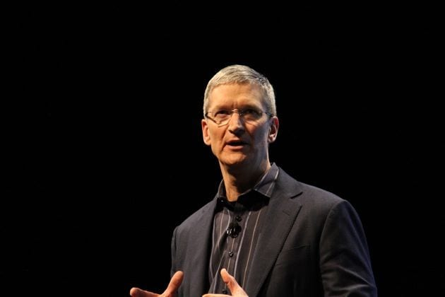 tim cook1 Tim Cook habla sobre el presente de Apple en la Goldman Sachs Technology Conference
