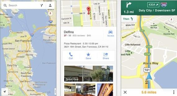 google maps 1.1 Google Maps para iOS recibe su primera actualización