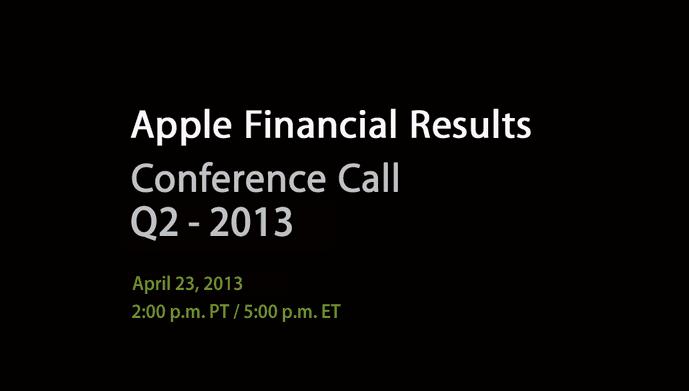 Screen Shot 2013 04 01 at 5.02.42 PM Próxima cita para conocer los resultados financieros de Apple: el 23 de abril