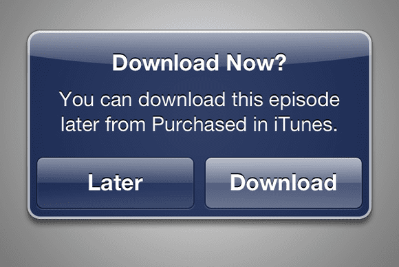 descargar más tarde Apple añade la opción Descargar más tarde en iTunes Store