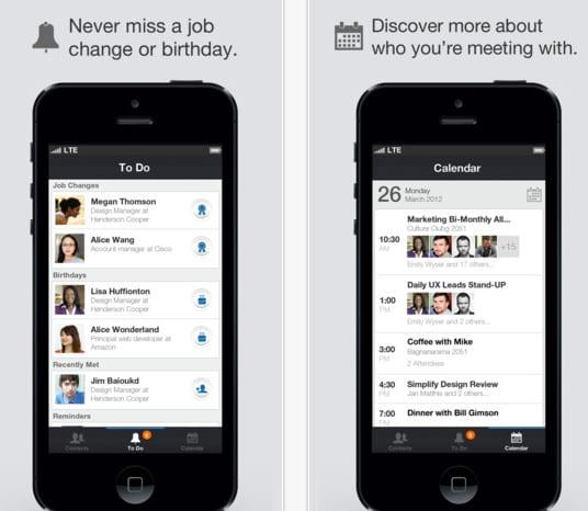 linkedin contacts LinkedIn Contacts, la nueva aplicación de LinkedIn