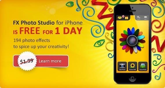 photo studio FX Photo Studio, otra gran app para hacer fotos y aplicar filtros desde el iPhone