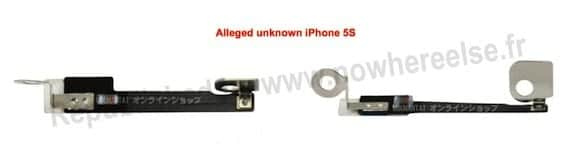 pieza iphone5 Se filtran imágenes de la cámara frontal del próximo iPhone