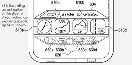 slideotunlcokslidertouch Apple patenta un sistema de acceso rápido a las aplicaciones desde la pantalla de bloqueo