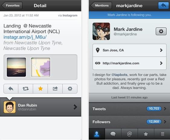 tweetbot para iphone Tweetbot se actualiza con nuevo Timeline multimedia