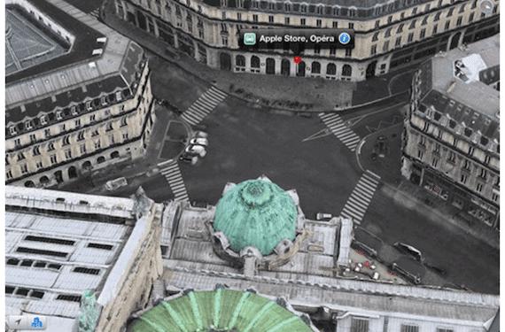 mapas apple francia Apple extiende la cobertura de Flyover en Francia, París y áreas cercanas