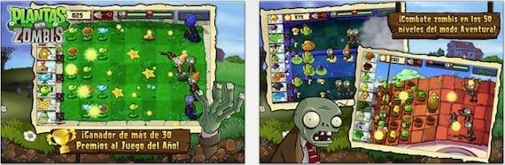 plants zombis Plantas contra Zombis se actualiza pero sigue sin estar adaptado al iPhone 5