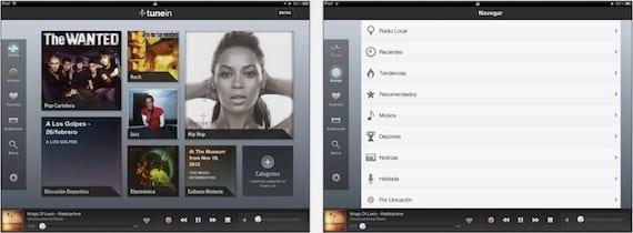 tunein radio 2 TuneIn Radio se actualiza a la versión 3.6 con muchas novedades