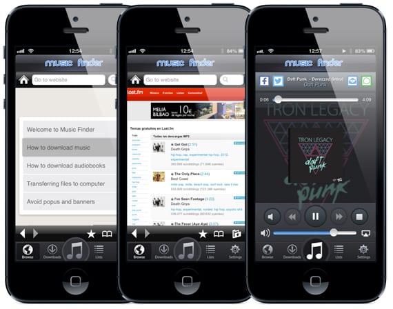 Music Finder Music Finder: una app para descargar música gratis