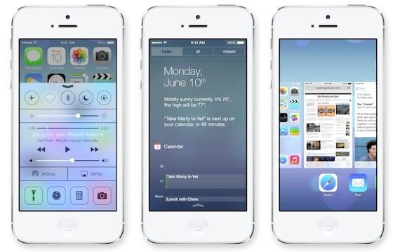 ios7 21 Aplicaciones que se verán afectadas por el lanzamiento de iOS 7