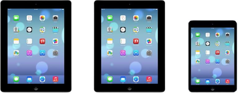 ipad ios 7 Así lucirá iOS 7 en el iPad
