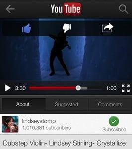 youtube La desaparición de la app nativa de YouTube en iOS da buenos resultados a Google