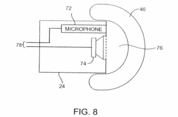earbuds 1 Apple patenta unos EarPods con sistema de cancelación de ruido activo