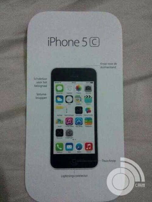 5c 2 Se filtra el manual de instrucciones del iPhone 5C
