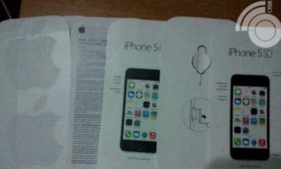 5c Copiar Se filtra el manual de instrucciones del iPhone 5C