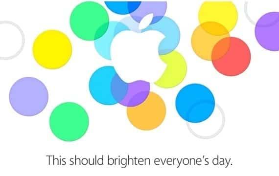 Evento Apple confirma la keynote del 10 de septiembre
