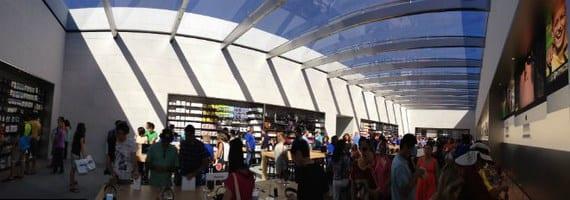 apple store 5 Copiar Imágenes de la apertura de la Apple Store Stanford 2
