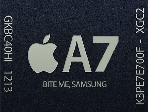 iPhone 5S 6 A7 Chip Could Be Made by TSMC at US Plant 2 640x487 Samsung tiene planes de contar con el procesador de 64 bits del iPhone 5s