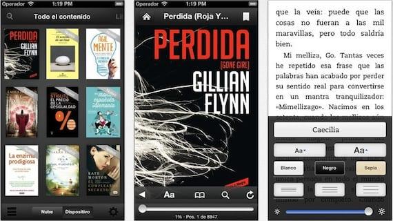 kindle ios7 La aplicación de Kindle para iOS hace obligatoria una actualización