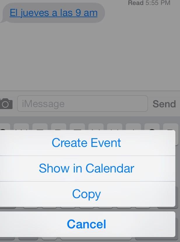 crear eventos ios 7 Cuatro trucos de iOS 7 que puede que desconozcas
