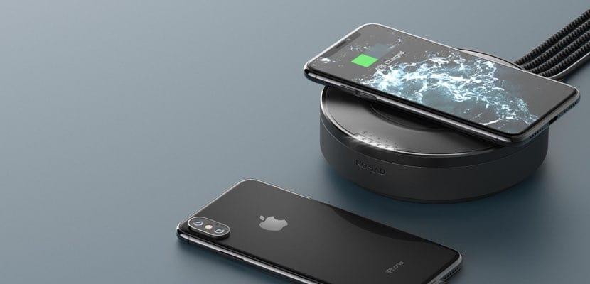 Nomad Wireless Charging Hub iPhone® X
