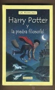 Harry Potter y la piedra filosofal de jk rowling