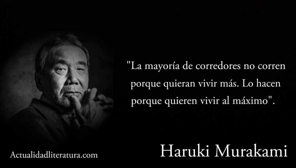 Frase de Haruki Murakami.