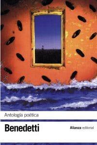 Portada Antología Poética de Mario Benedetti