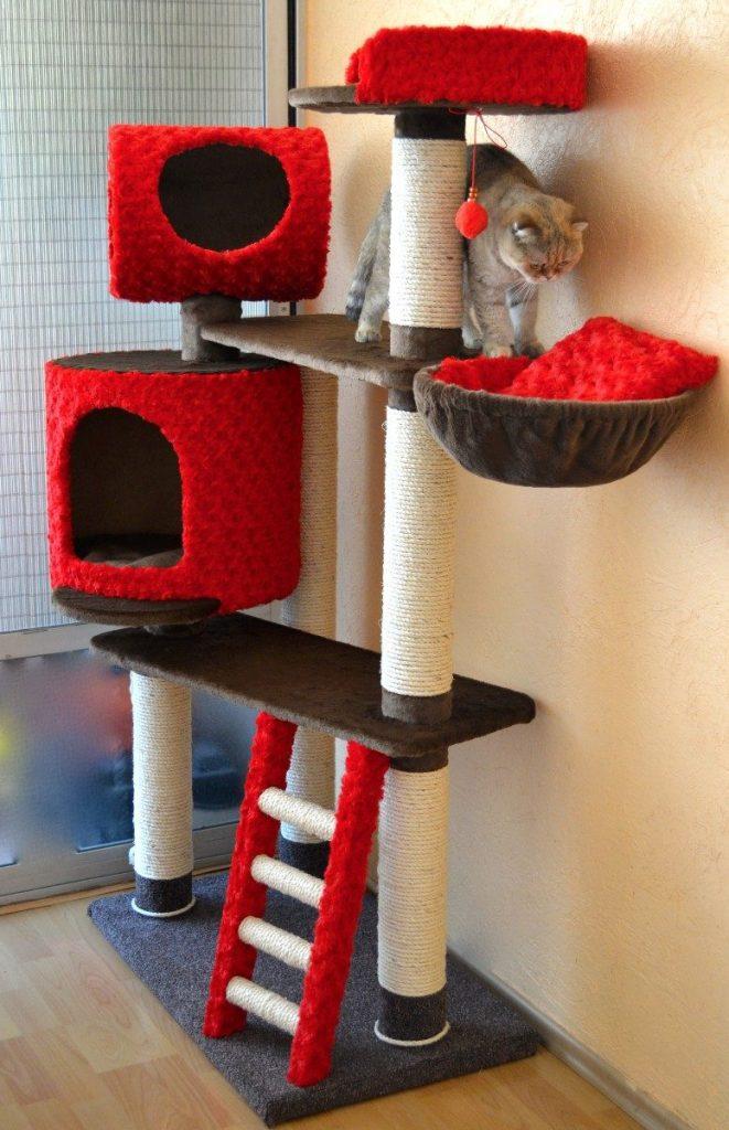 Los mejores juguetes para gatos for Red transparente para gatos