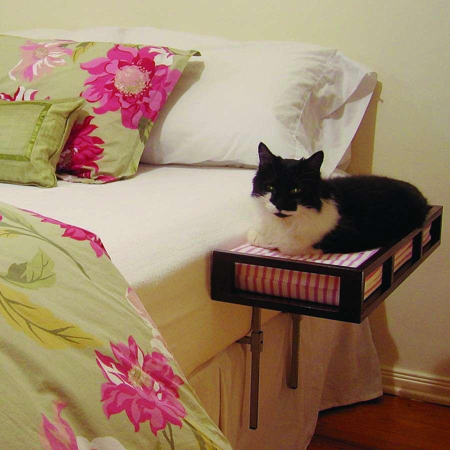 C mo evitar que tu gato suba a la cama for Adornos para hogar